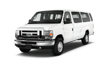 Automatic transmission, Front/Rear, Air conditioning, Cruise Control, Side and rear access doors, AM/FM/CD stereo - Comfortably seats 10 Adults with approximately 4' of cargo space behind rear bench
