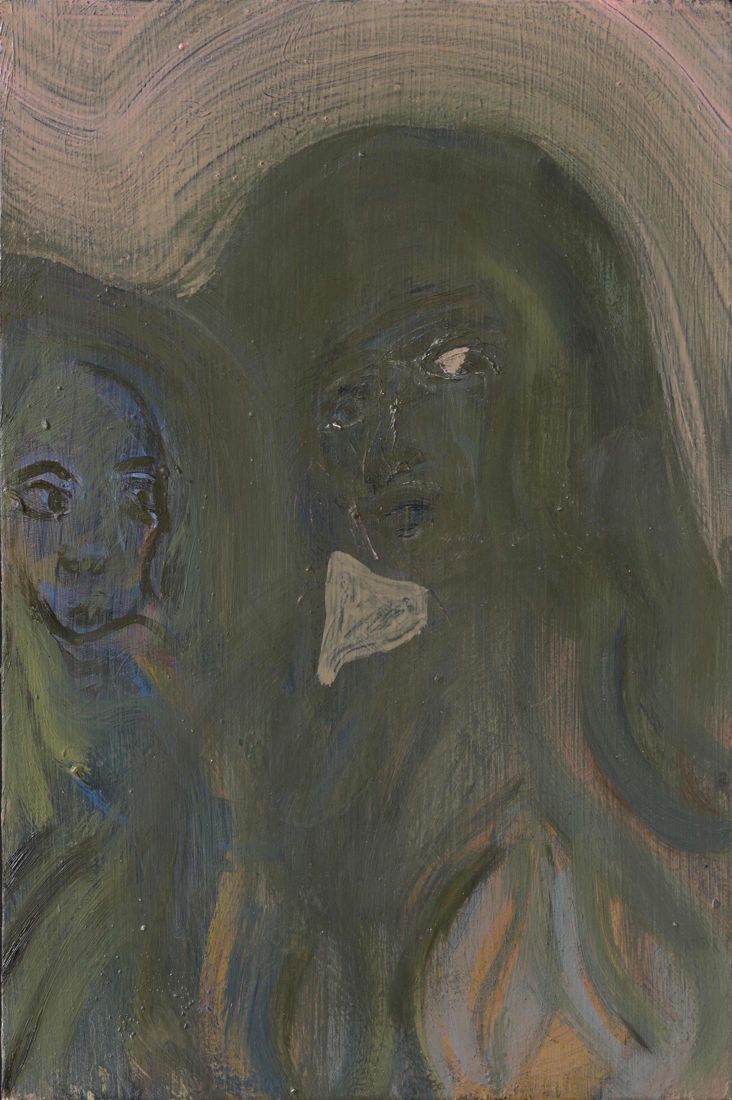 The Eye   Oil on board  31 x 20 cm