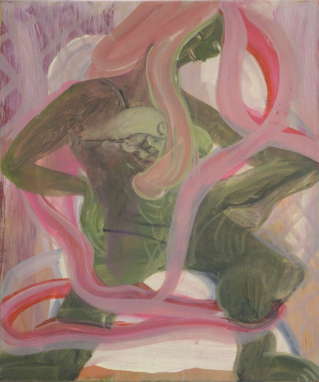 TTC   Oil on canvas  75 x 50 cm