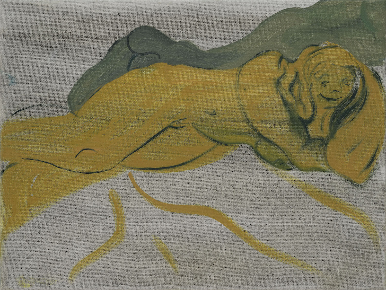Cotton Rich   Oil on canvas  20 x 30 cm