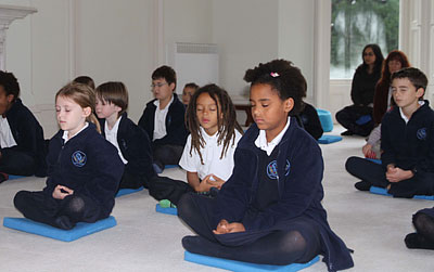 Benefits of mindfulness and stress reduction for teachers, educators, children, and schools.
