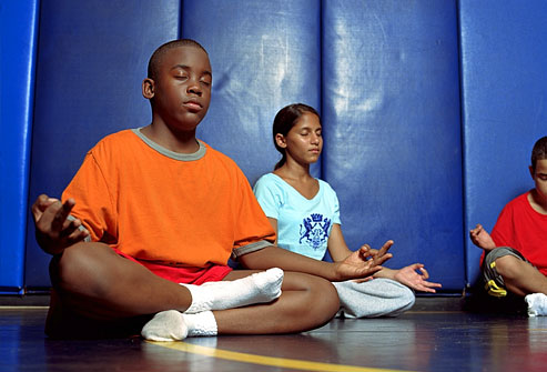 Meditation and mindfulness in schools reduces stress and burnout for students and teachers