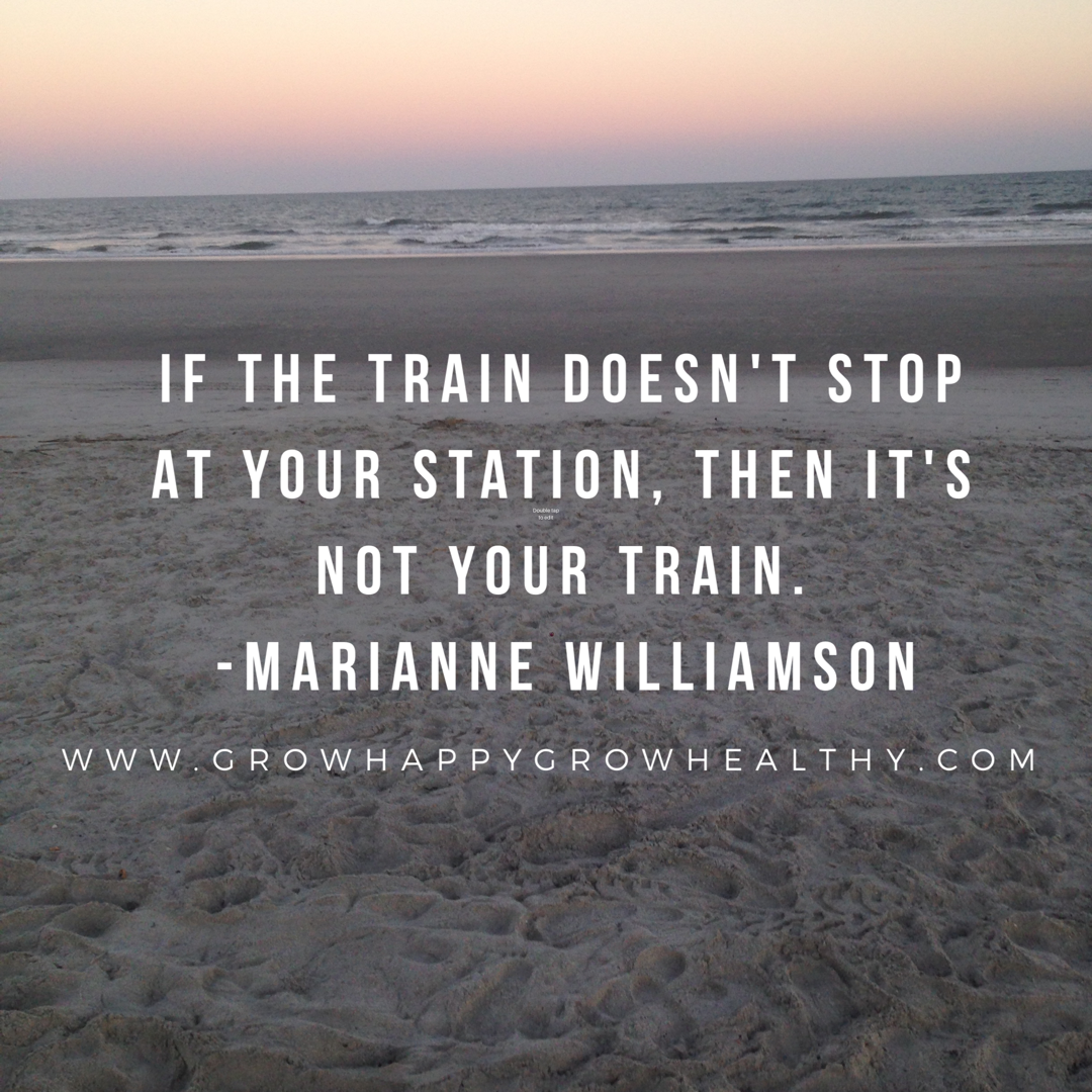 Marianne Williamson, spirit junkie extraordinaire. You should check her out if you're not familiar.