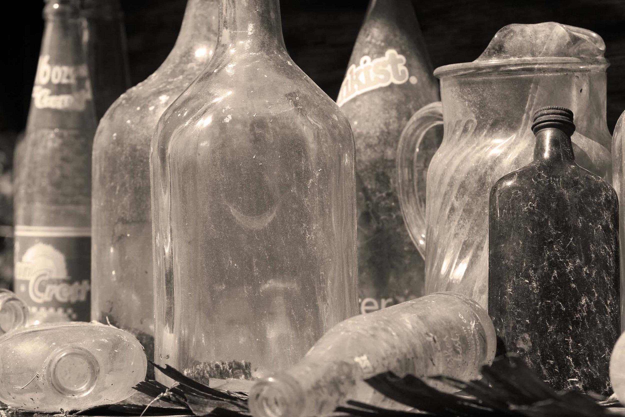 Old Bottle in the Flat Rock Barn