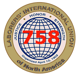 Copy of Laborers' International Union of North America, Local 758