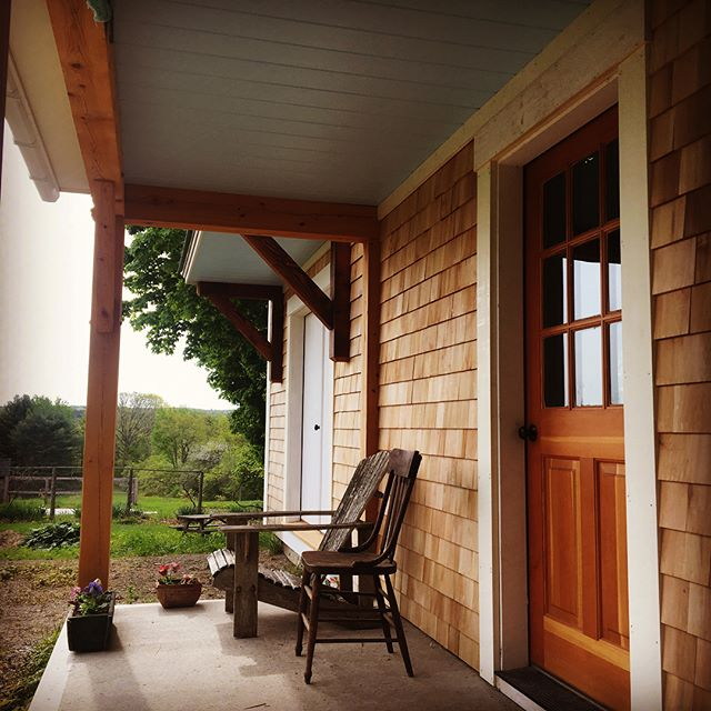 Just a wee porch renovation.