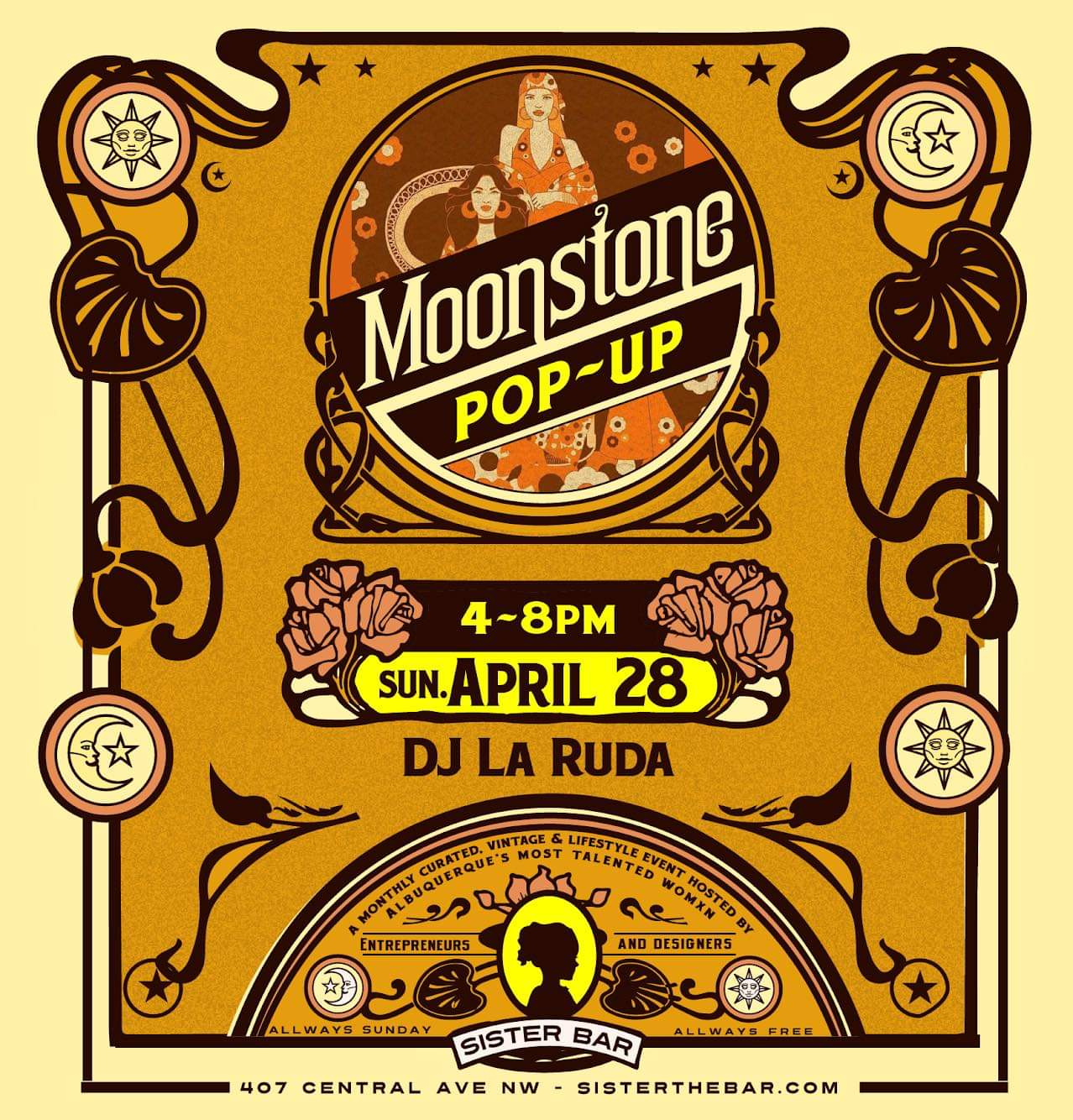 Moonstone Pop-Up