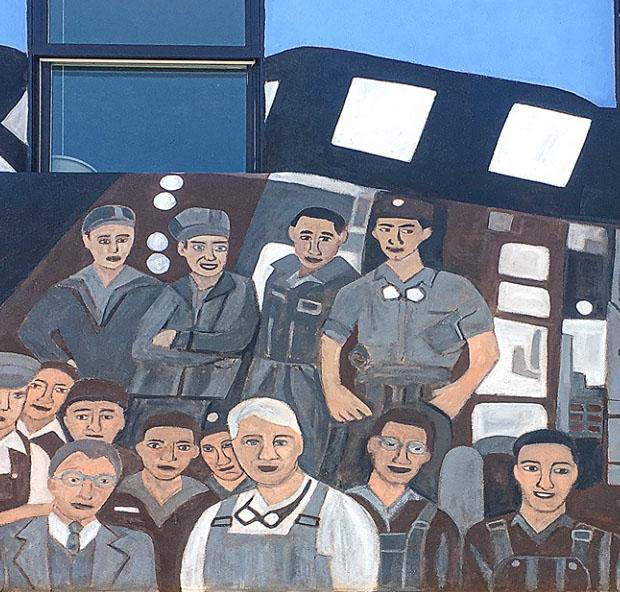 Railyard Workers