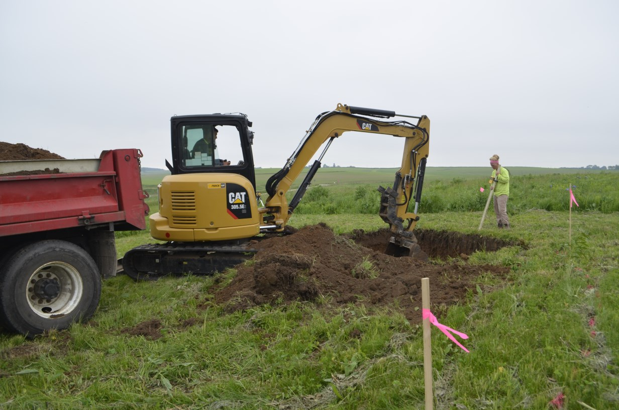 Earthworks begin at the Wingspan site!