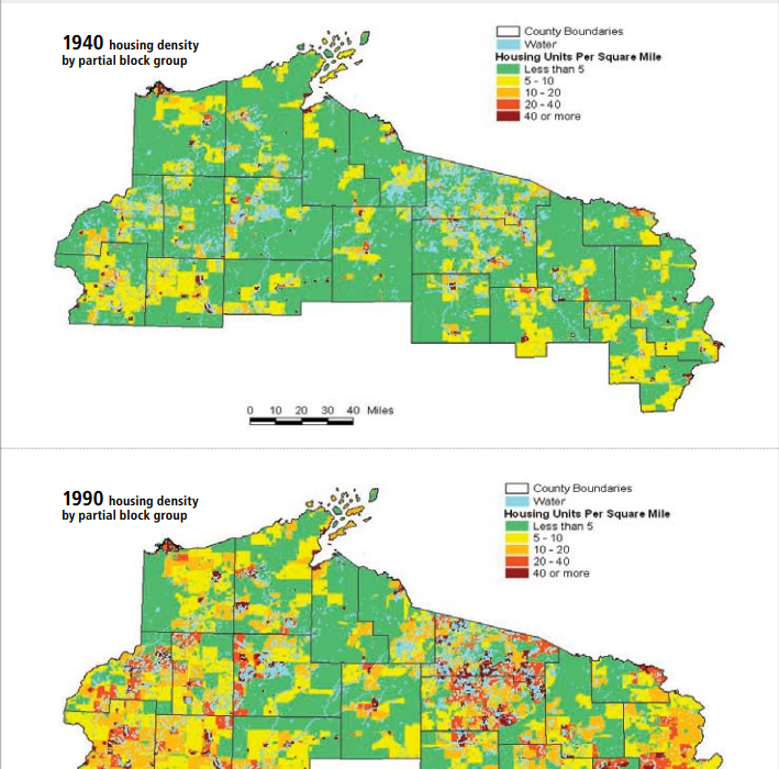 Image from  Wisconsin's Land Legacy Report