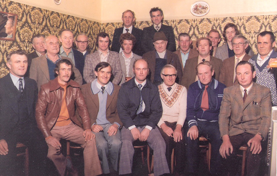 The Club recently celebrated its 40th year, here are the early members in the early/mid 70's