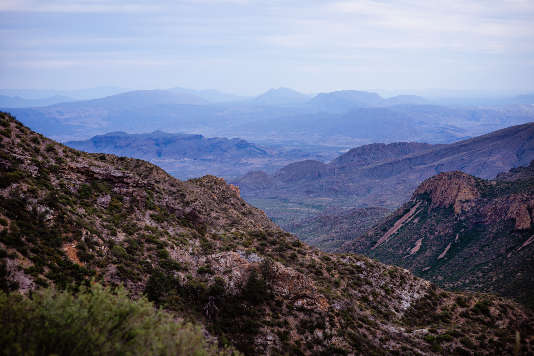 The Lost Mine Trail in the Chisos