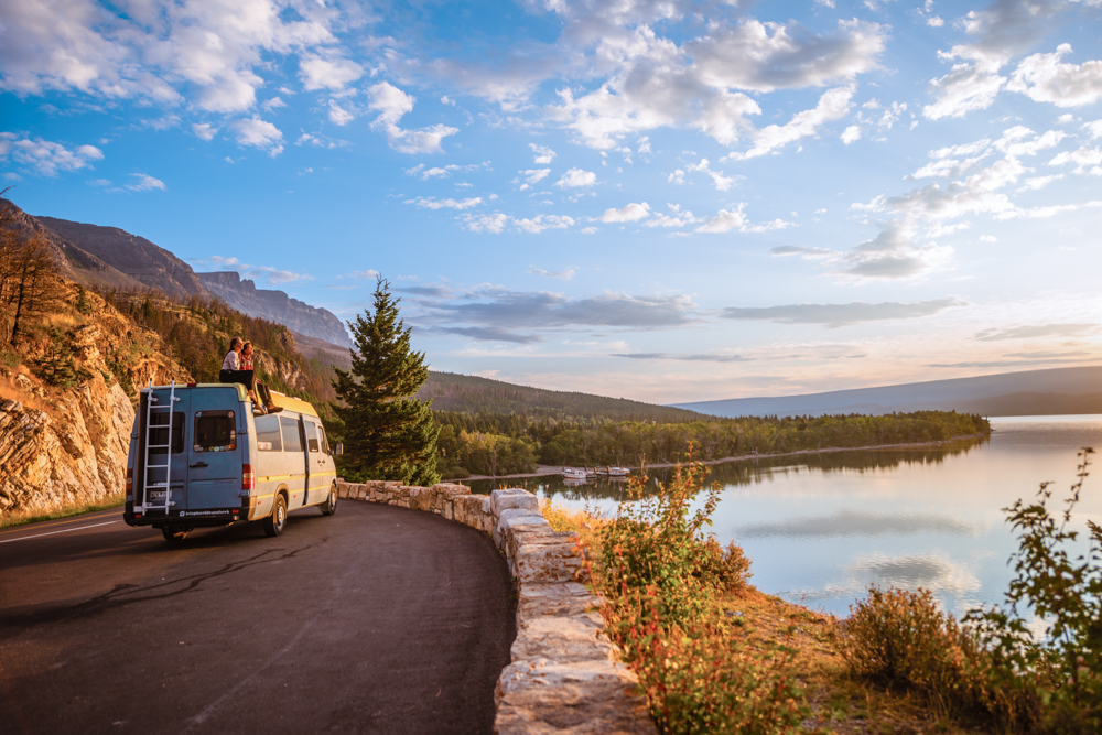 See the USA in a Camper Van -