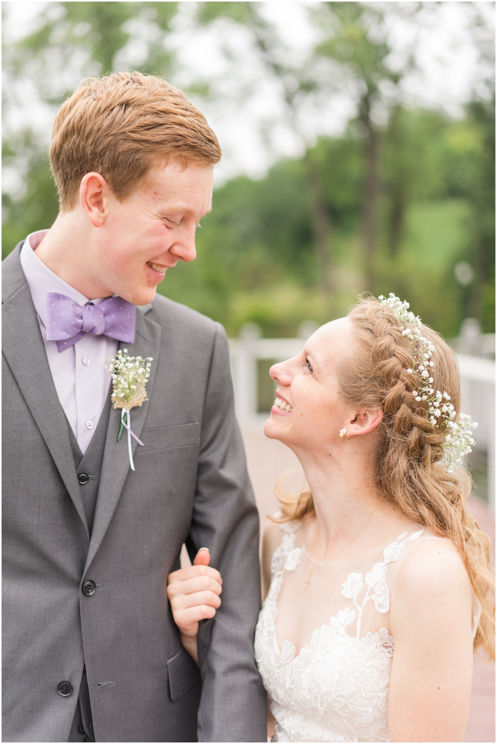 bride and groom at The Outpost Center