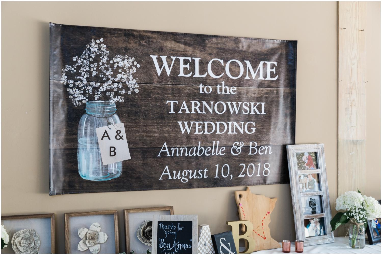 wedding decor details