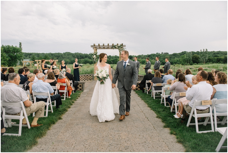 Wedding ceremony in Chaska MN