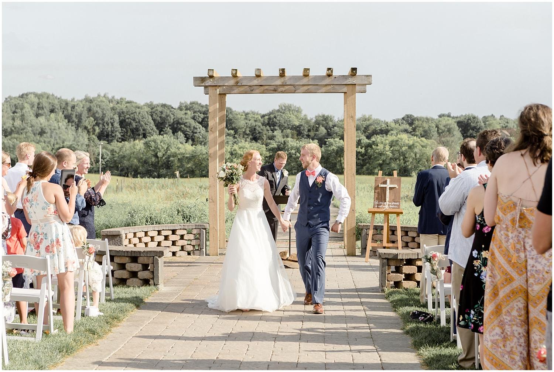 Chaska Wedding Venue MN. Outdoor Wedding Ceremony in Minnesota