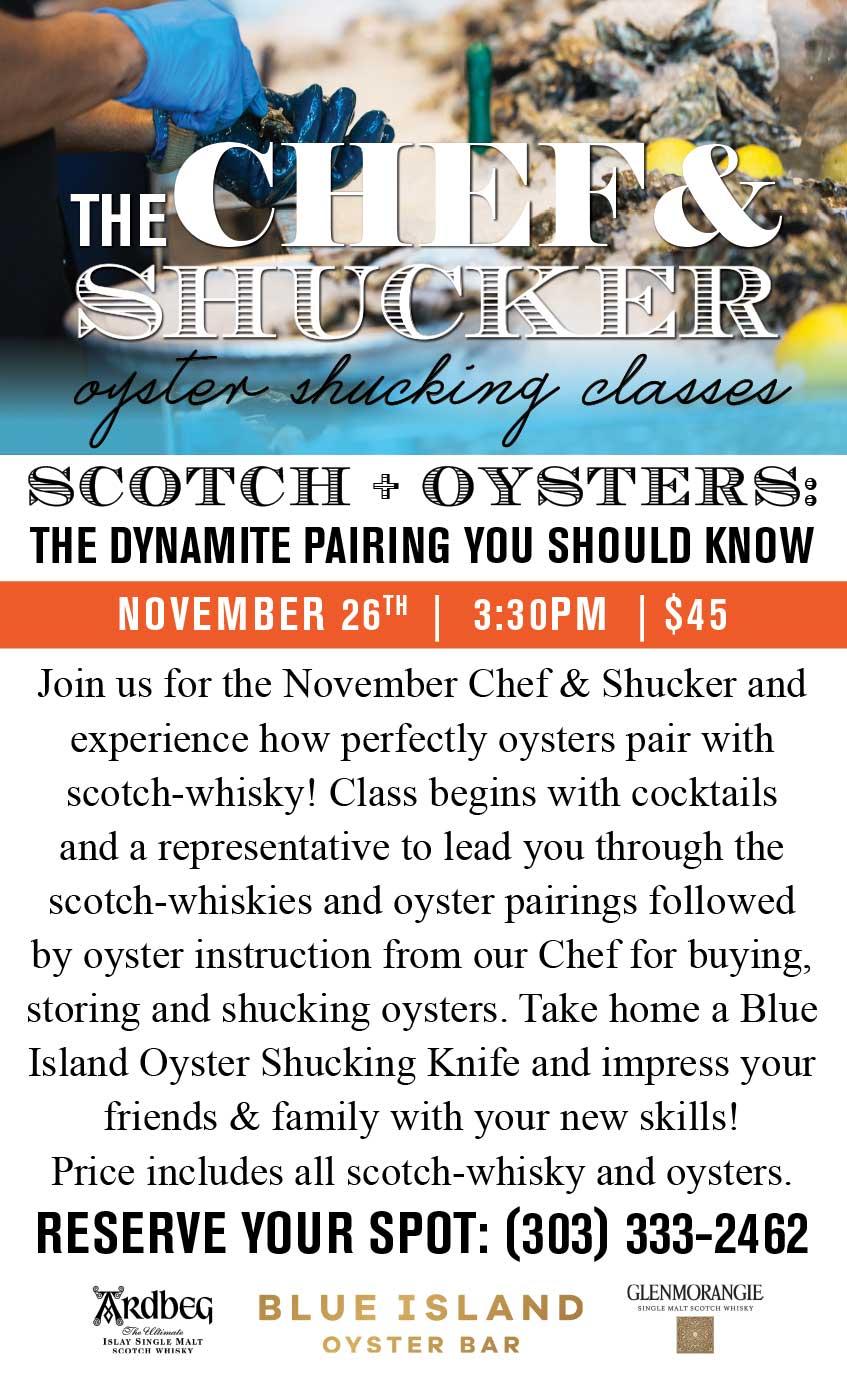 Chef & Shucker - Oyster Shucking Class