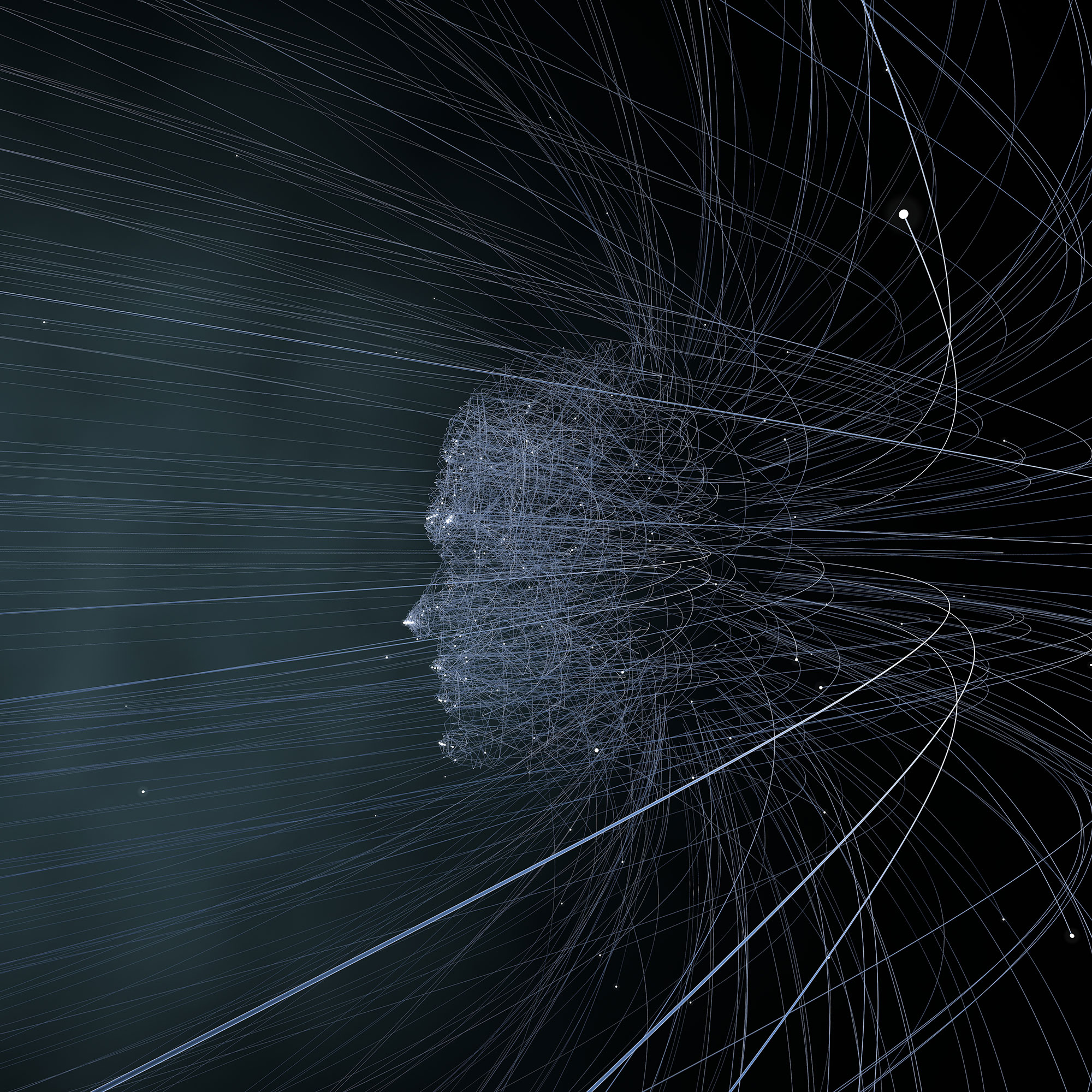 Glenn Marshall's Emergent Artwork 'Particle Man' featured in In\Formation is available as a limited edition Digital Print (edition of 5) and Digital Edition (edition of 100) via  Sedition.   The Digital Print Edition is in the collection of the Arts Council of Northern Ireland. Please inquire via email for pricing and availability.