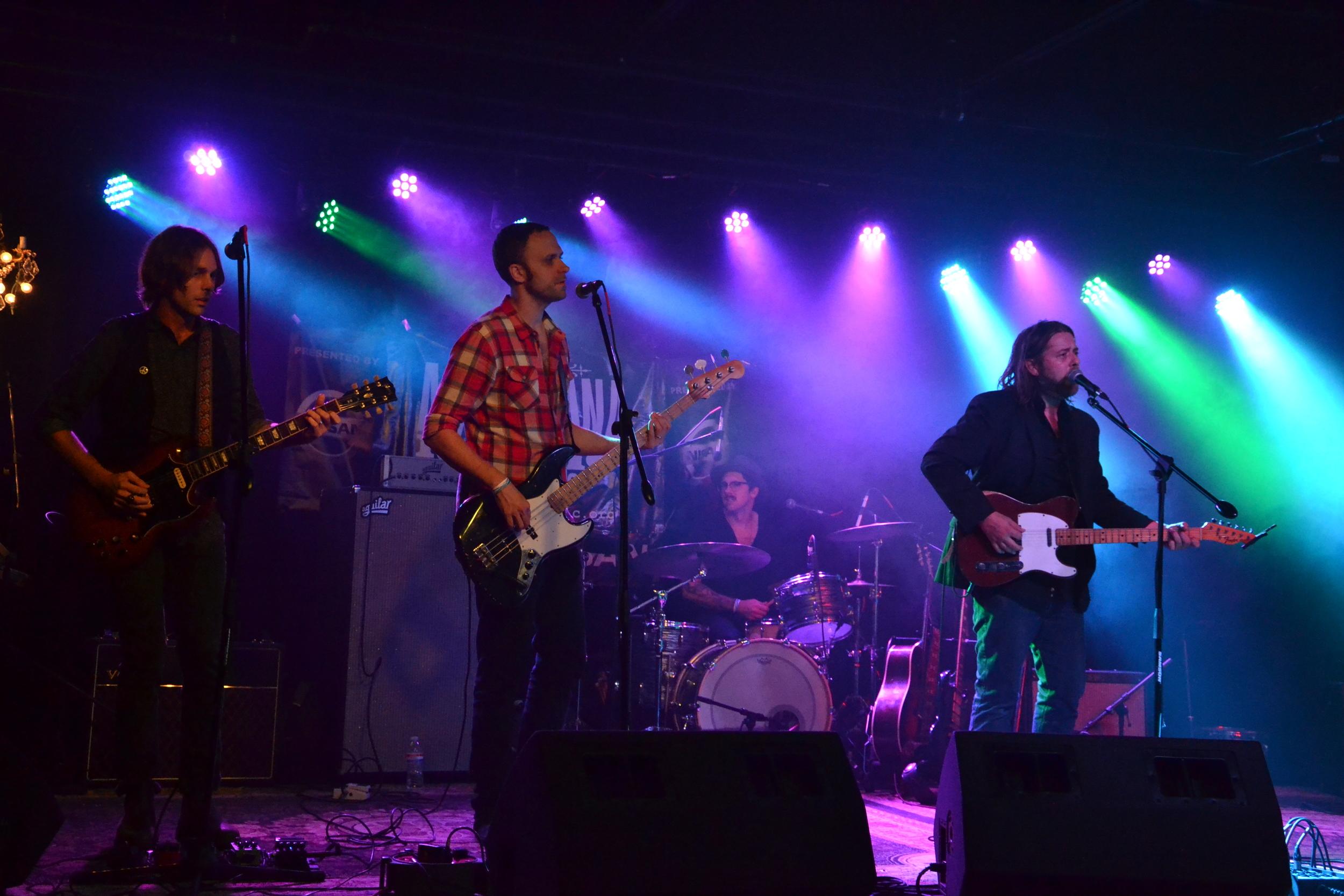 Photo Credit: Paul Felton  Jerry Roe on bass. Sadler Vaden on guitar.