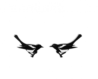 Magpie Earrings | Tatty Devine