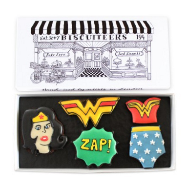 Wonderwoman biscuits