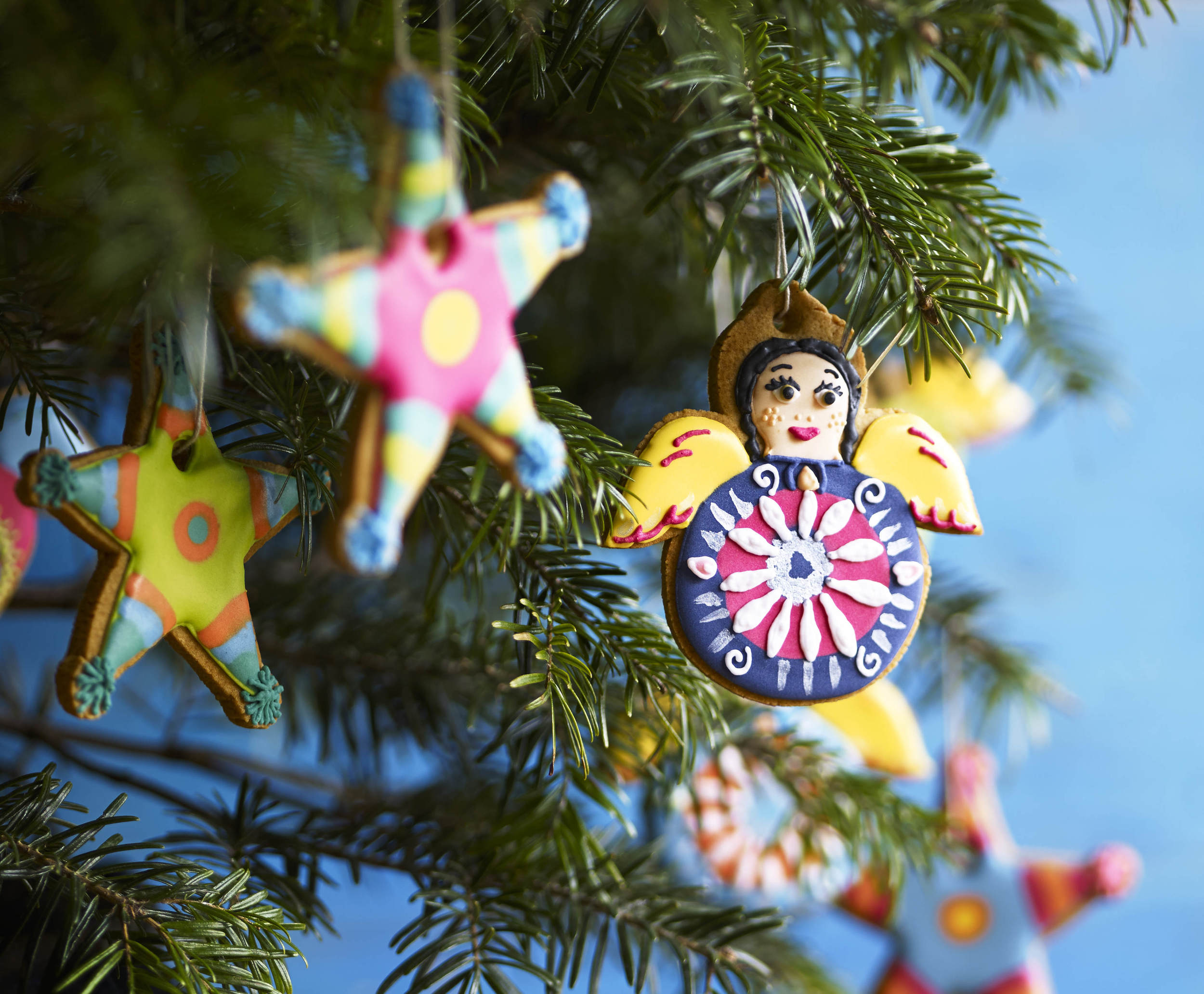 Mexican tree decorations