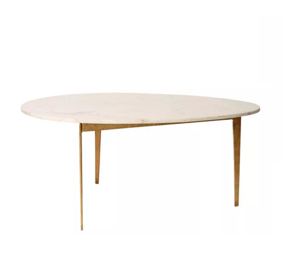 Oliver Bonas Lux Egg Coffee Table