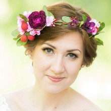 The Honeycomb | Floral Crown