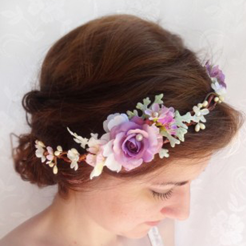 The Honeycomb Floral Crown | Laughing heart