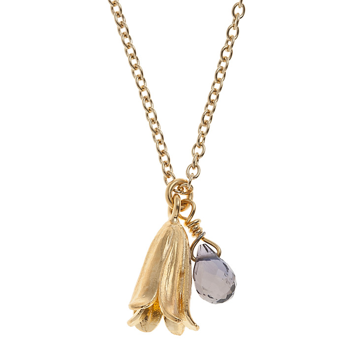 Alex Monroe Bluebell Necklace