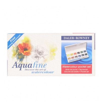 AQUAFINE WATERCOLOUR SET