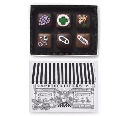 Biscuiteers Get Well Soon Chocolates £11.95