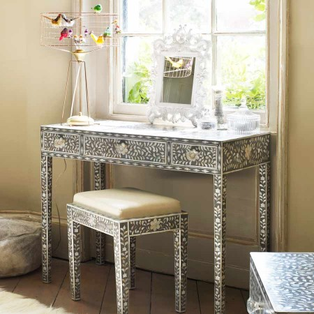 Grey Maxi Mother of Pearl Desk £795