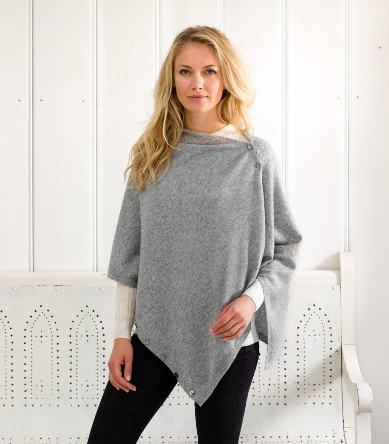 Woolovers Cashmere Poncho | Laughing Heart Gift blog