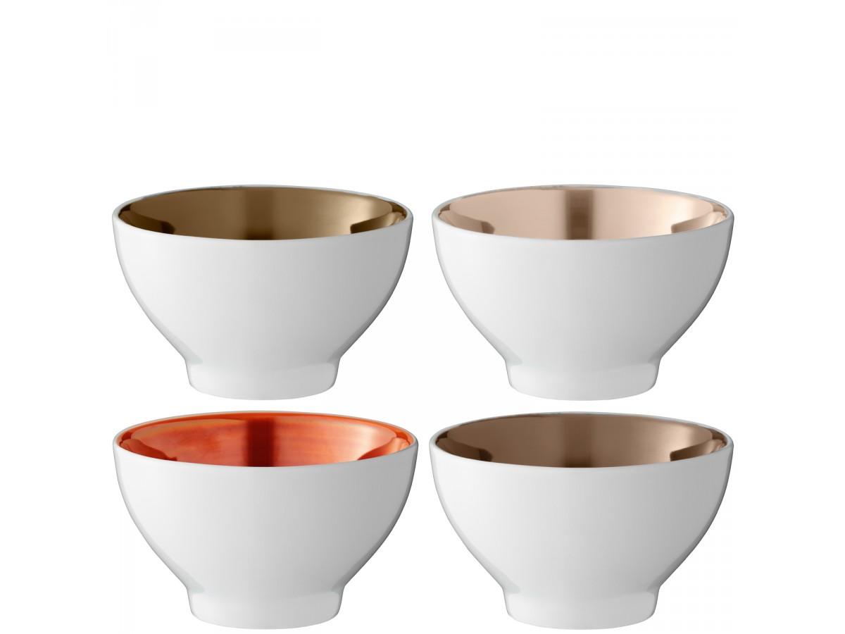 Metallic bowl set | Laughing Heart Gift Blog