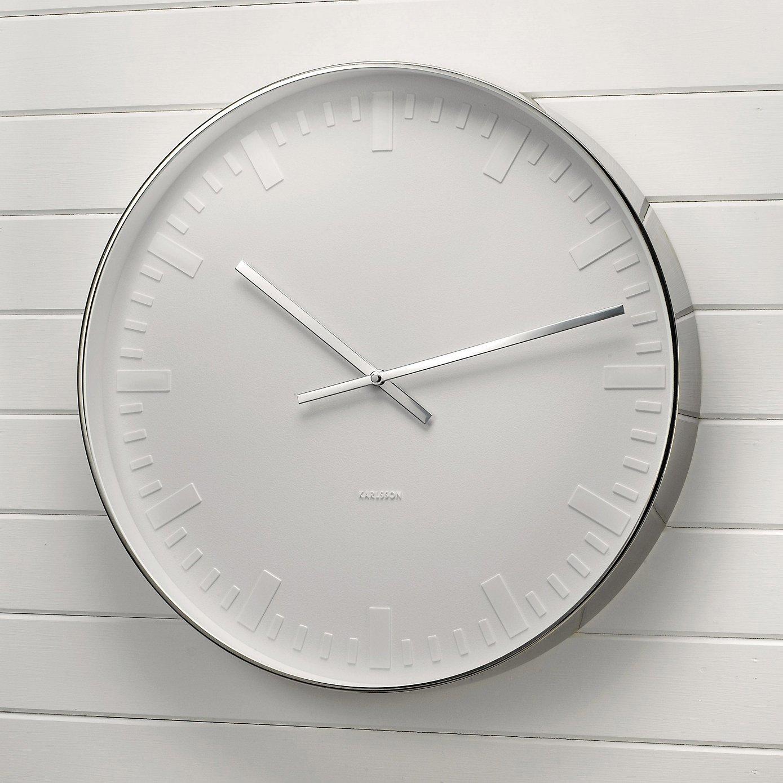 White Karlsson Clock