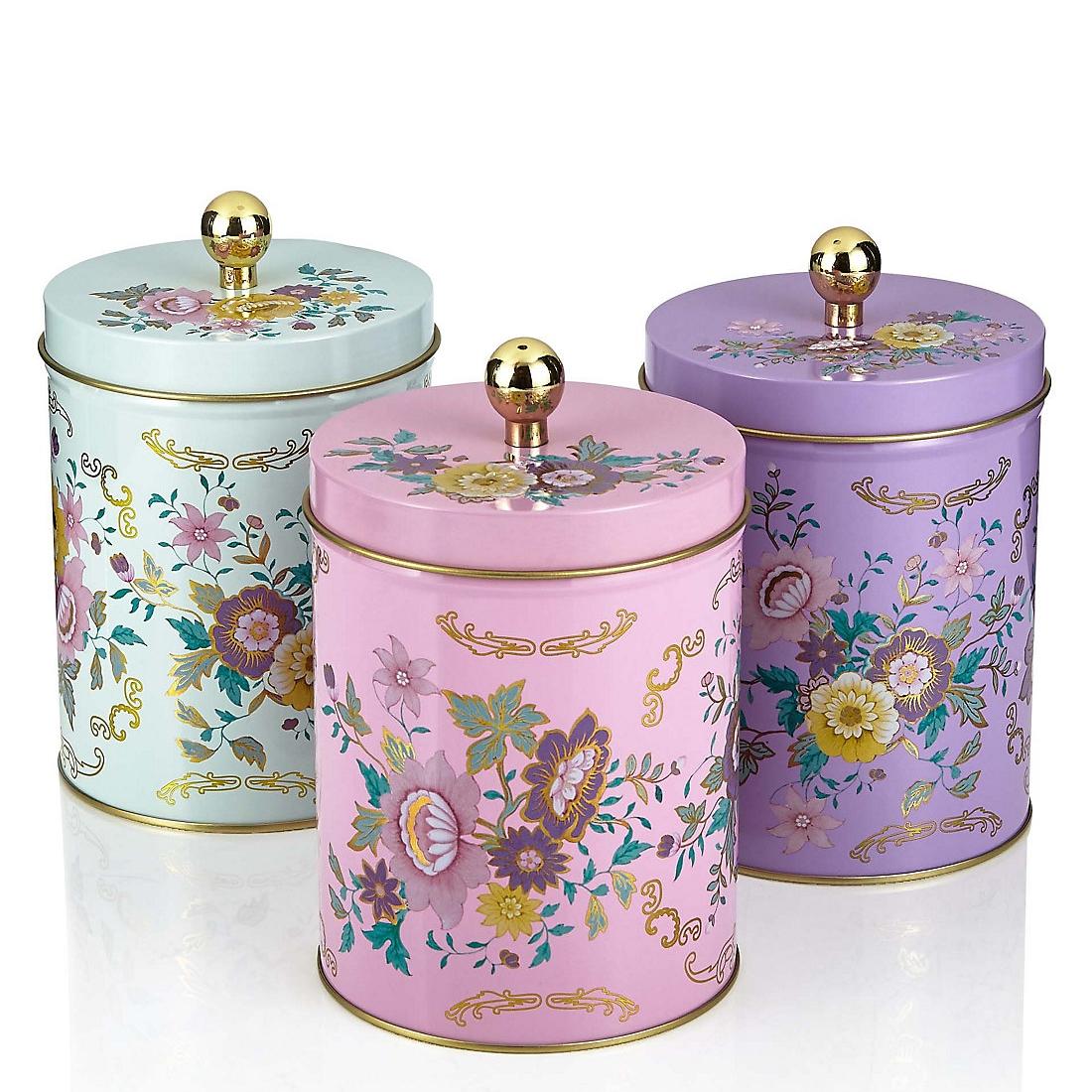 Floral Tins £12.50