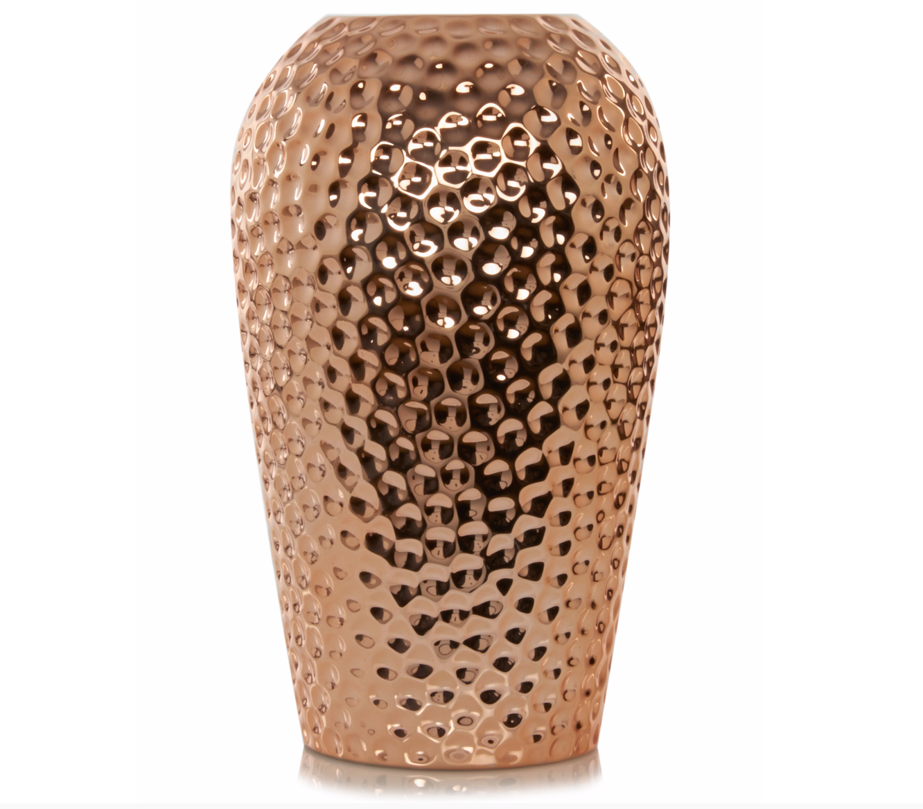 Hammered Copper Vase £15