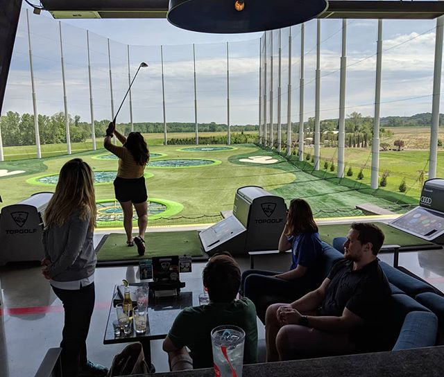 Farewell party for Joe! #chemistsgogolfing #topgolf