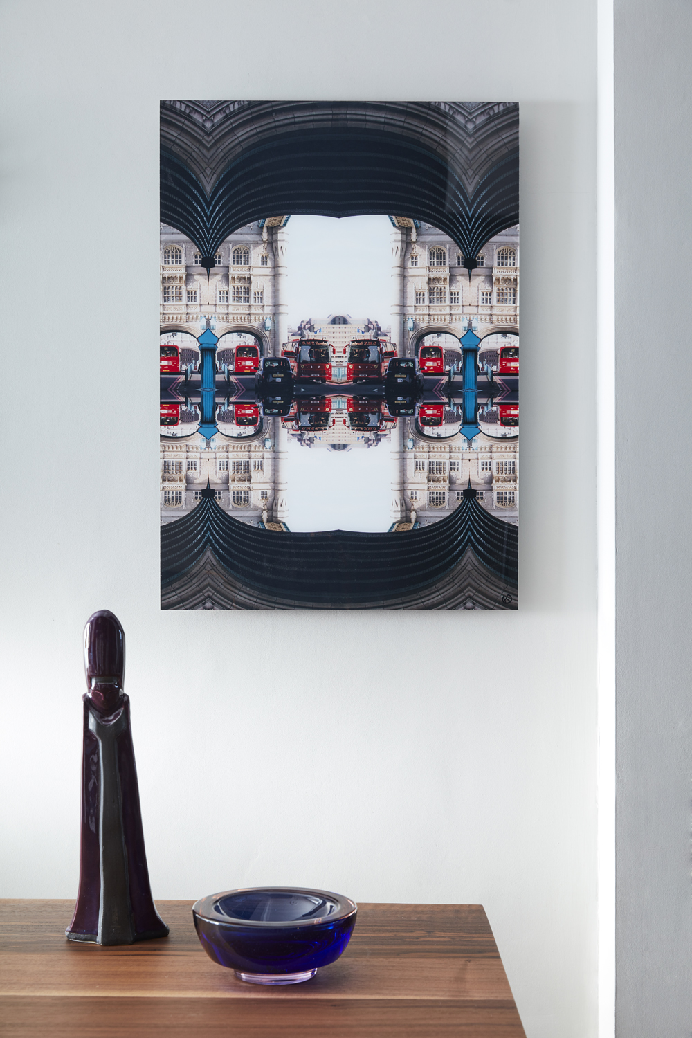 Tunnelling    Tower bridge - An iconic London moment, pierced by iconic London red buses.
