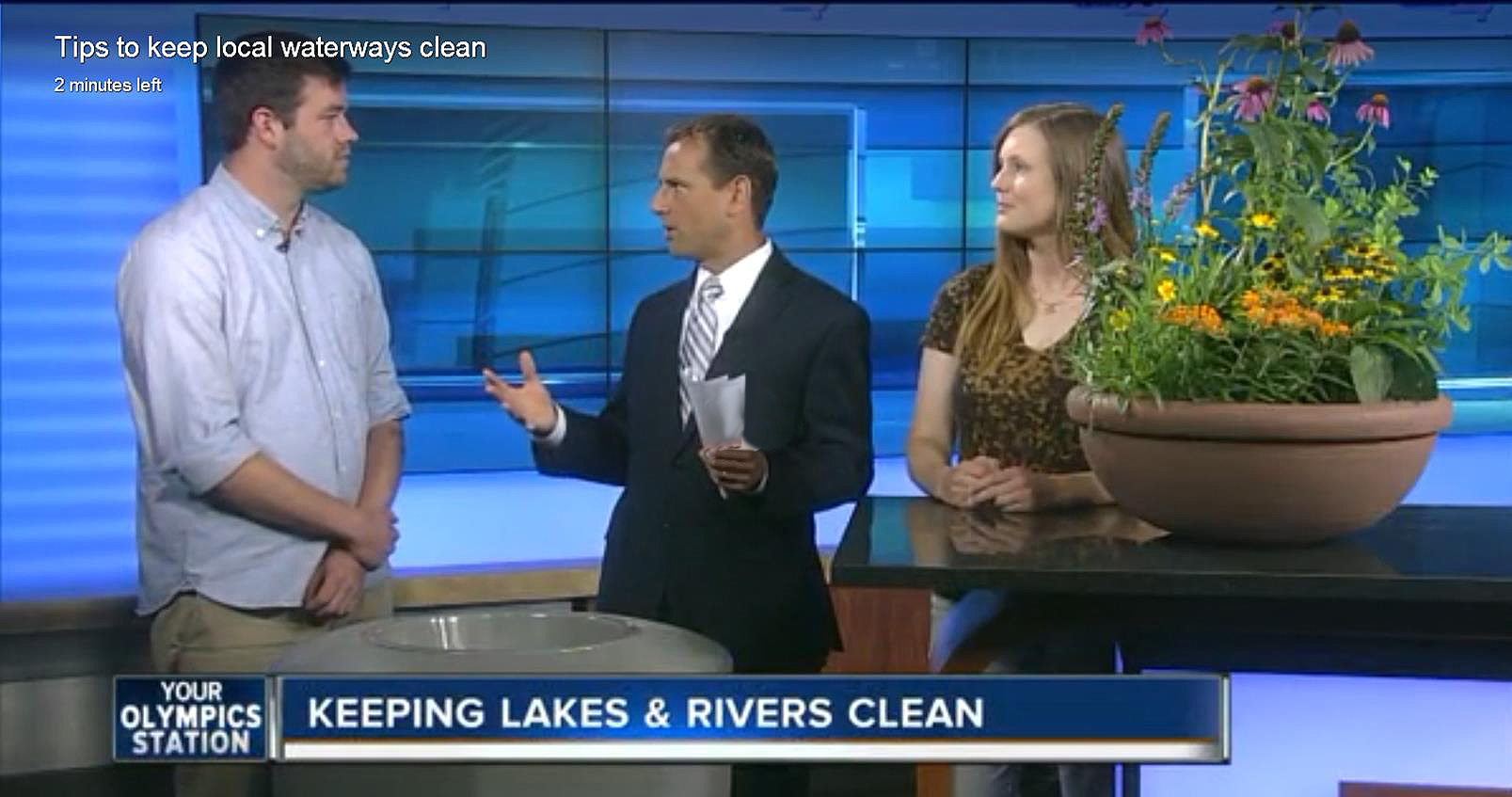 Jake Fincher and Allison Thielen talk about things we can all do to help keep our lakes and rivers clean.