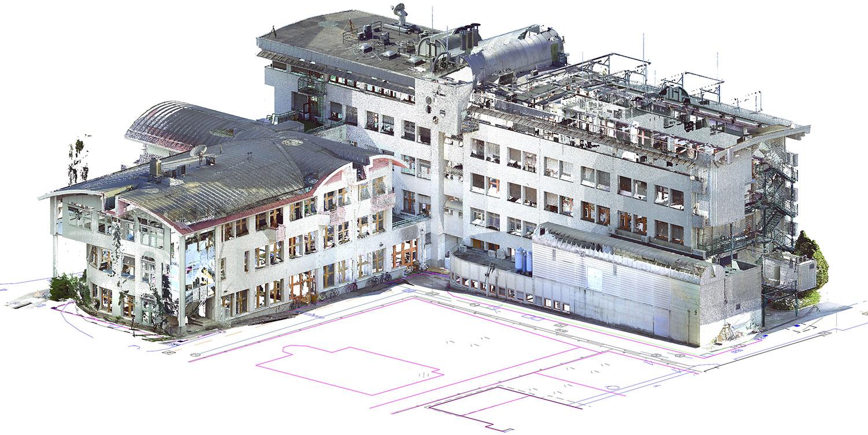 Oblak točk objekta kot podlaga za izdelavo 3D BIM modela