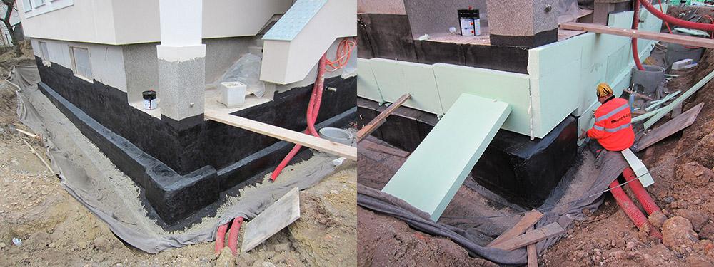 Hidroizolacija in toplotna izolacija temeljev pri energetski sanaciji objekta