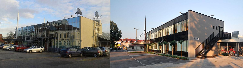 Energetska sanacija poslovnega objekta v Ljubljani