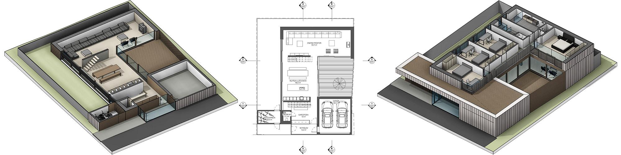 Idejna zasnova - 3D BIM model