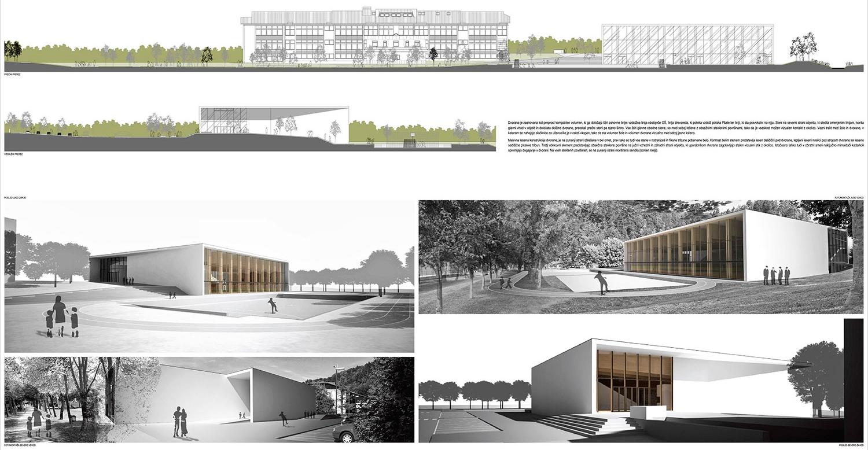 Idejna zasnova - fasade in vizualizacije