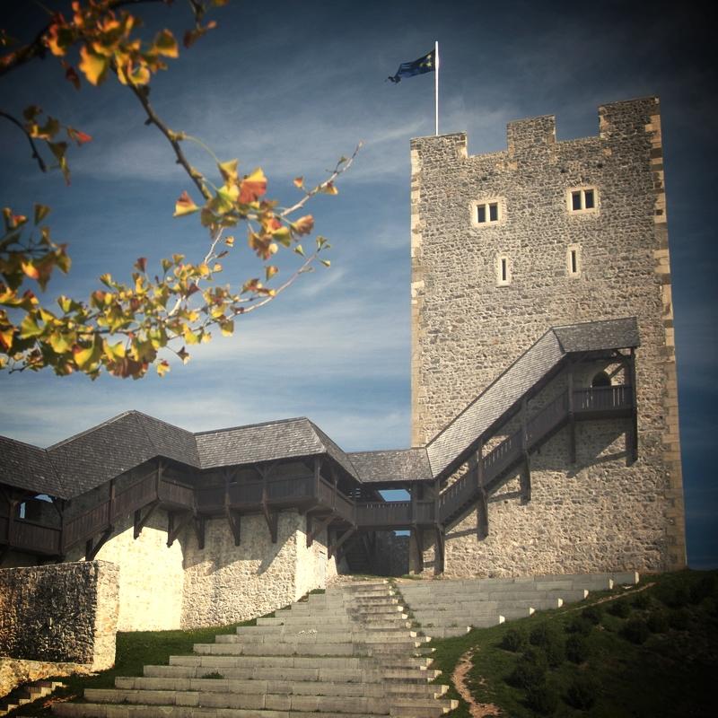 Friderikov stolp na starem gradu v Celju