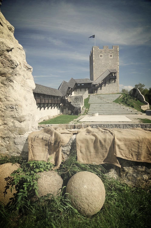 Stari grad Celje - tribune