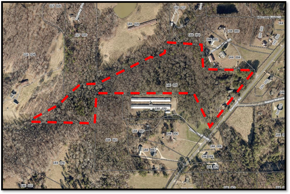 26 acres Aerial Outlined.png